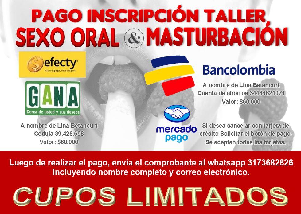 pago taller sexo oral