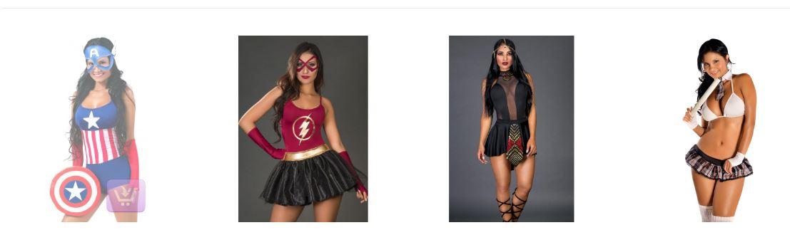 Disfraces para mujeres originales TUPUNTOSEX