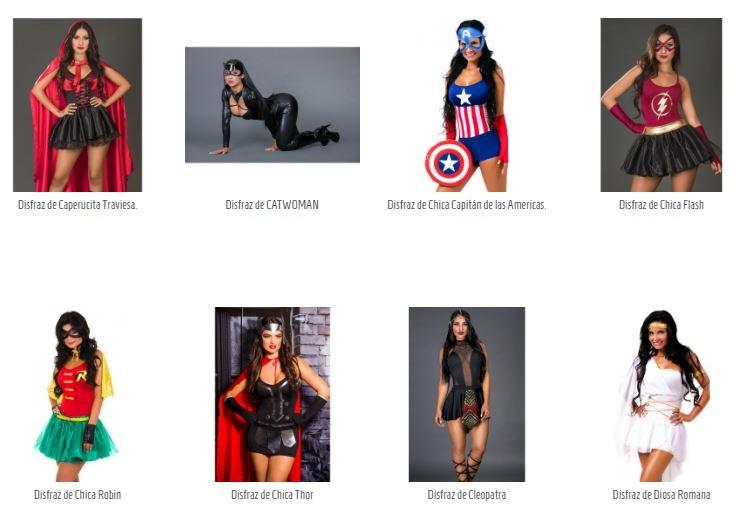 Los disfraces para halloween mujeres TUPUNTOSEX